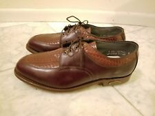 New Footjoy Classics Us Size 9 Eee Brown Golf Shoes made in U.S.A