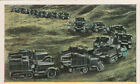 N°67 French Truck armored road tank Car World War Germany WWI 30s CHROMO