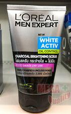 100mL LOREAL MEN EXPERT Pure Matte CHARCOAL SCRUB -ACNE Face Wash Foam Cleanser
