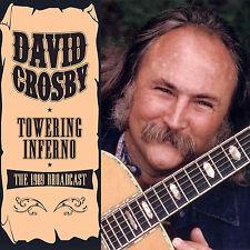 DAVID CROSBY of CROSBY STILLS & NASH New 2018 UNRELEASED 1989 LIVE CONCERT CD