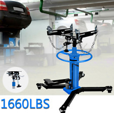 New Listing1660lbs 075ton 2stage Hydraulic Transmission Jack Stand Lifter Hoist Car Lift