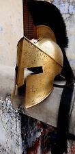 Spartan King Leonidas Spartan Helmet 300 Movie Solid Steel Helmet Medieval Gift