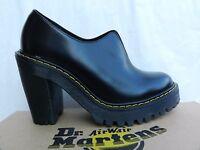 Dr Martens Cordelia Chaussures Femme 37 Escarpins Richelieu Talon Salome UK4 New