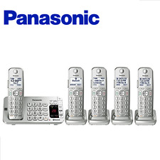 Panasonic KX-TGE475S Link2Cell Bluetooth® Cordless Phone with Large Keypad