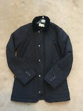 Reiss Navy Quilted Jacket - Small