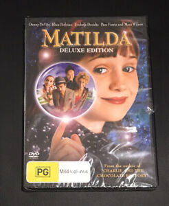 Matilda Deluxe Edition (2008 : 1 Disc DVD Set) Brand New Sealed in Plastic R4
