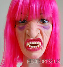 Vampire Comedy Latex Half Face Mask Costume Fancy Dress Party