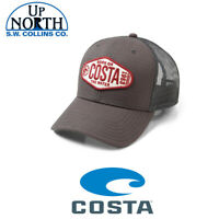 COSTA DEL MAR CLINCH TRUCKER HAT GRAY