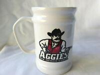 "New Mexico State University Aggies Pistol PeteCeramic Mug Beer Stein 5"""