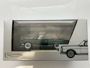 🔴  FALLER 1:43 Mercedes-Benz W111 280 SE 3.5 Cabriolet RARE Mercedes Museum