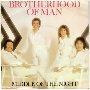 Brotherhood of Man - Middle of the Night 7'' Single (1978) w/picture sleeve PYE