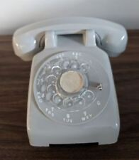 "Vintage Telephone Rotary Desktop Mini Salesman Sample Gray 4"" Promo"