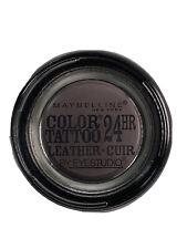 Maybelline Eye Studio 90 Vintage Plum Color Tattoo Leather 24 Hour Eyeshadow New