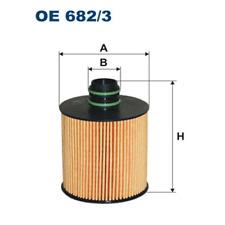 Ölfilter - Filtron OE682/3