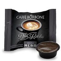 Caffè Borbone Schwarze 100 KaffeeKapseln Don Carlo Kompatibel Lavazza a Modo mio