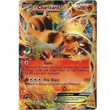 Pokemon Card Charizard EX XY29 Promo Ultra Rare Holo Foil Black Star Promo