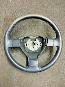 OEM 2006-2009 MK5 VW VOLKSWAGEN JETTA LEATHER WRAPPED STEERING WHEEL 1K0419091EQ
