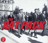 THE RAT PACK THE BIG THREE, 3 CD BOX SET, DEAN MARTIN, FRANK SINATRA & MORE