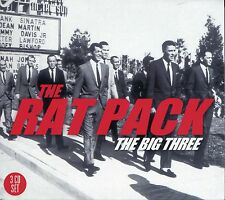 THE RAT PACK THE BIG THREE, 3 CD BOX SET, DEAN MARTIN, FRANK SINATRA & MORE
