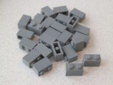 LEGO 3004# 25x Basic pietre 1x2 verticale in grigio nuovo grigio scuro 10182 7633
