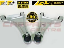 FOR RENAULT TWINGO SPORT RS FRONT LOWER WISHBONE CONTROL ARMS BALL JOINTS BUSHES