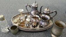 Job Lot of Antique/Vintage Brass/Plated/EPNS Mixed Bundle  4.8 KG #497