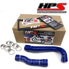 HPS PERFORMANCE REINFORCED SILICONE RADIATOR HOSE KIT BMW E46 3-SERIES BLUE