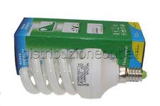 10 LAMPADINA BASSO CONSUMO E14 22W SPIRALE LUCE CALDA 2700K E 14