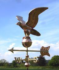 Adler Kupfer Windfahne