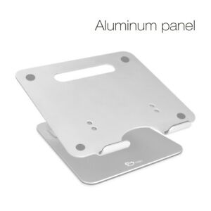 SIIG Adjustable Aluminum Laptop Stand for Macbook and PC (CE-MT2C12-S1)