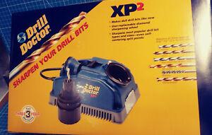 Drill Doctor Drill Bit Sharpener XP2 + XL Bit Chuck + Storage Bag - All Unopened