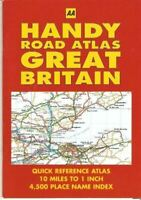 AA Handy Road Atlas Great Britain, The Automobile Association, Like New, Pamphle