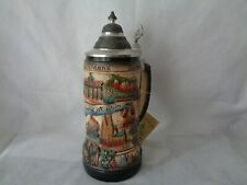 Zoller & Born Limited Edition Pewter Lid German Beer Stein