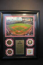 """HOUSTON ASTROS - 16"""" x 13"""" MLB Authenticated Framed Photo of Minute Maid Park ++"""