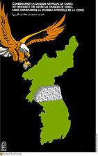 Political cuban POSTER.North Korea.USA Eagle.ASIA 32.Revolution Art Design