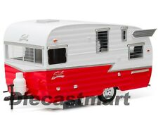 GREENLIGHT 1:24 18225 SHASTA 15' AIRFLYTE CAMPER TRAILER DIECAST MODEL RED NEW