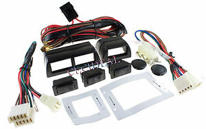 High Quality 12 Volts Power Window Switch Kit w/ Wire Harness Spal + More 12V