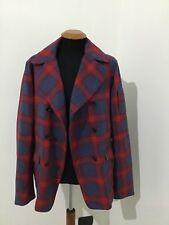 Giacca giubbotto cappotto uomo Geospirit taglia 50 scozzese Turner print PROMO