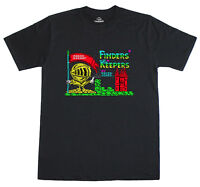 Finders Keepers Loading Screen 8 Bit Spectrum 48k Retro T-Shirt