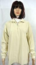 Unifarbene Damen-Kapuzenpullover & -Sweats aus Fleece mit Reißverschluss
