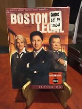 Boston Legal - Season 1 (DVD, 2010, 5-Disc Set) Mfg. Sealed