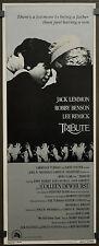 Tribute 1980 Original 14X36 Film Poster Jack Lemmon Robby Benson Lee Remick