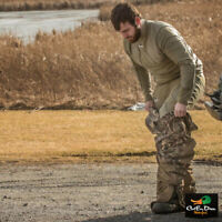 NEW BANDED GEAR BASE LAYER TOP - PRIMALOFT INSULATION - SPANISH MOSS
