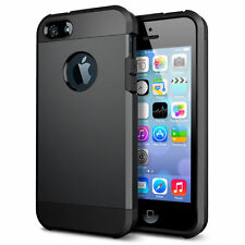Shockproof Rugged Rubber Silicone Hard Case Cover Skin for Apple iPhone 4s 5s SE