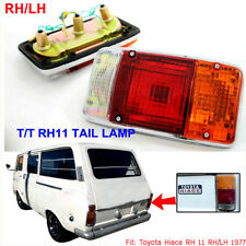 FOR Toyota HiAce RH11 Rear Tail Lamp Van RH LH Bulb Wire Red Clear Amber Lens
