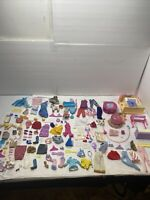 Vintage Barbie Doll Lot Of Accessories, Furniture, And Clothes