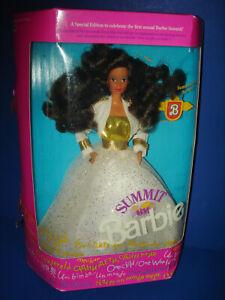 Hispanic SUMMIT BARBIE Doll #7030 Steffie Head Mold Mattel 1990 China