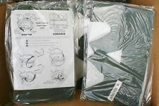 PASGT HELMET IMPACT LINERS (2) UNIVERSAL FIT KIT DETAILED DIRECTION $5 FRE SHP