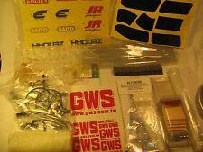 R/C MODEL AIRPLANE Trim film ZENOAH STICKERS Kit parts 7 GM LEAD etc [Y72d1]