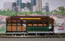 HO-SCALE San Francisco Cable Car Powell & Mason St Fishermans Warf Trolley Mint